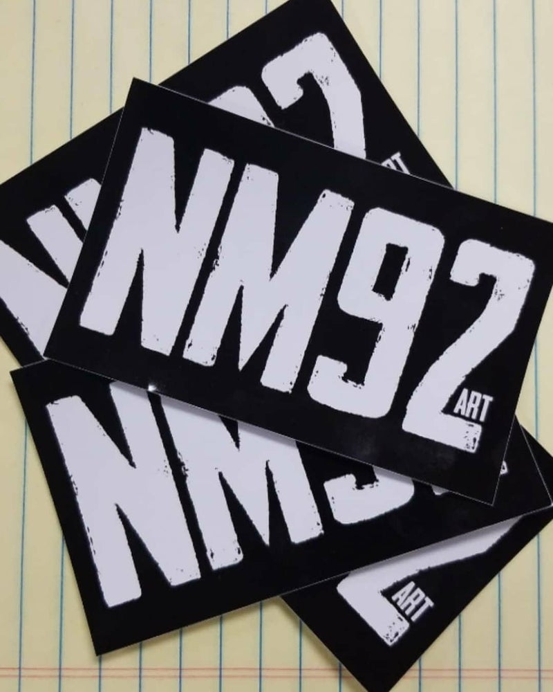 Image of NM92 Sticker