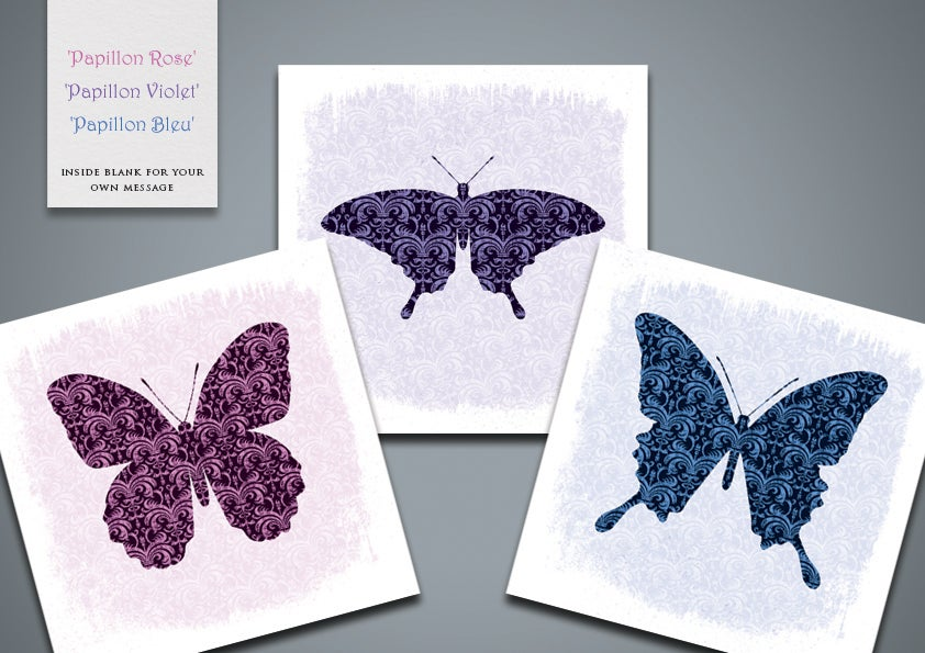 Image of Butterfly Greetings Cards (pack)
