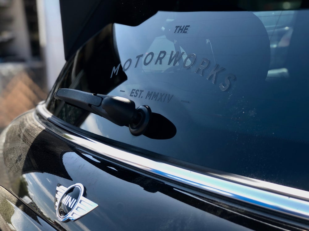 Image of MOTORWORKS DECAL