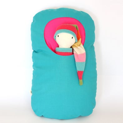 Image of POCKET / Decorative cushion with pocket/ Cojín decorativo con bolsillo