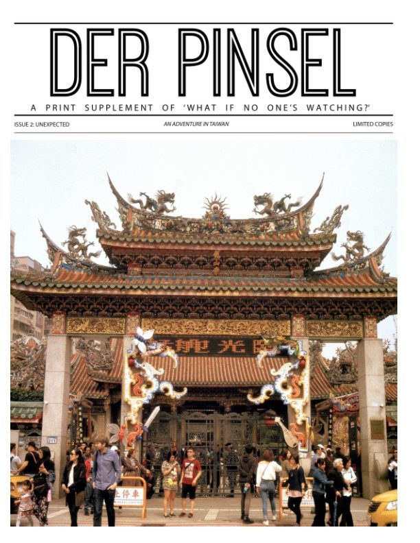 Image of DER PINSEL MAGAZINE Issue 02: Unexpected