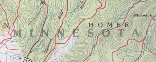 Image of BLUFF COUNTRY stickers