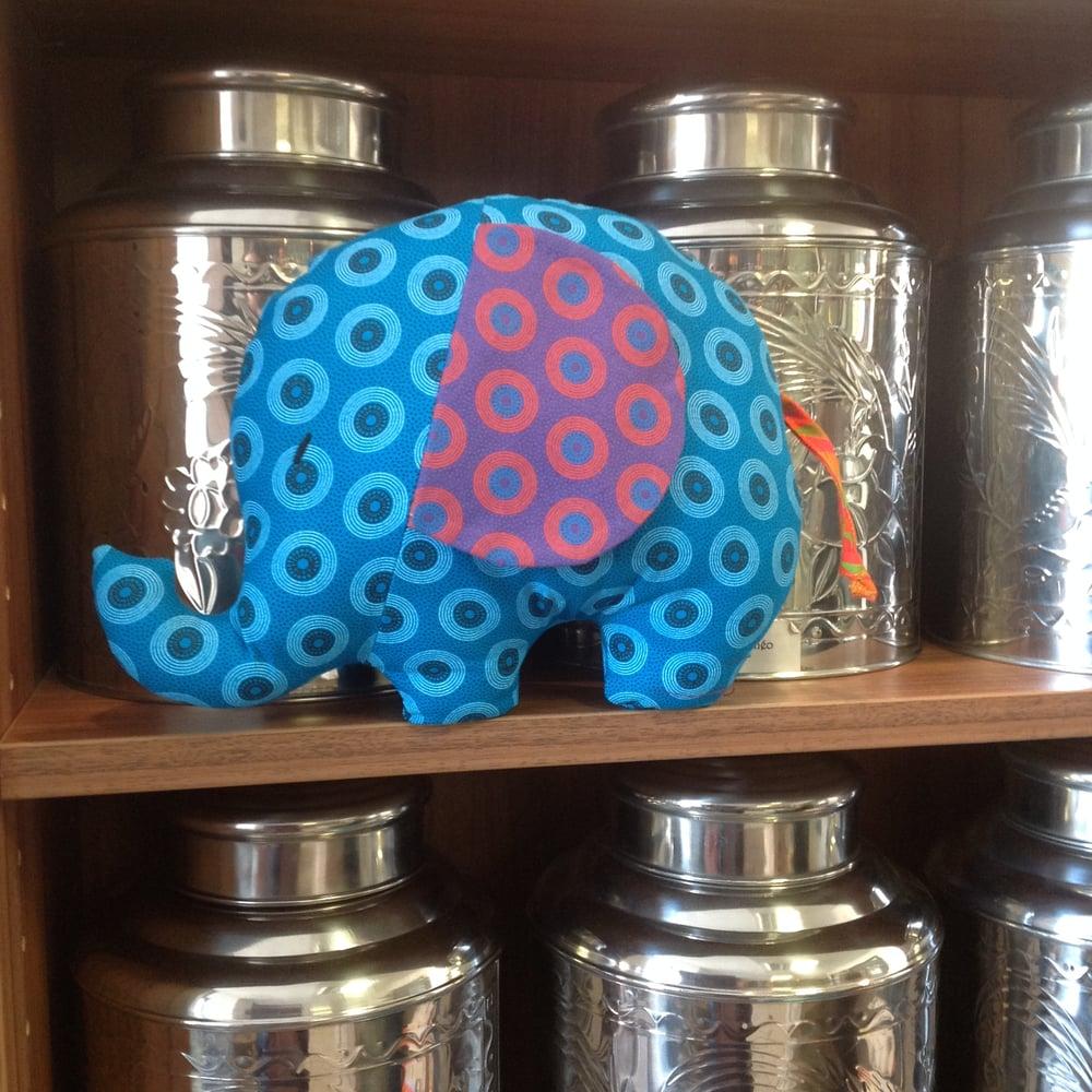Image of Elvis the Shweshwe Elephant