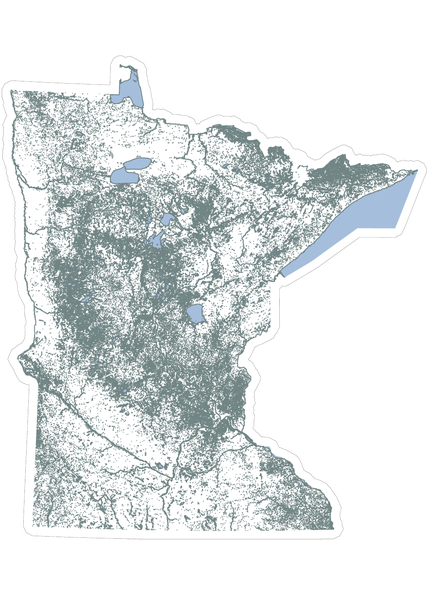 Image of 10,000 LAKES stickers