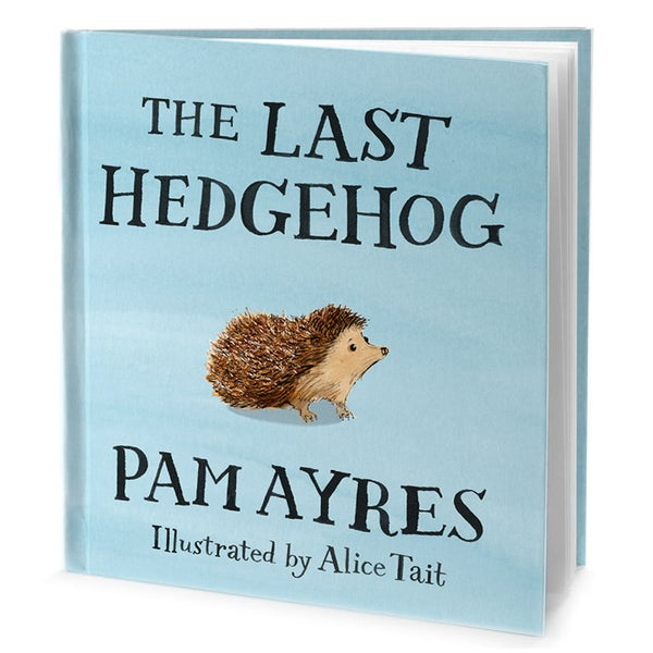 The Last Hedgehog by Pam Ayres, Illustrated by Alice Tait - Alice Tait Shop
