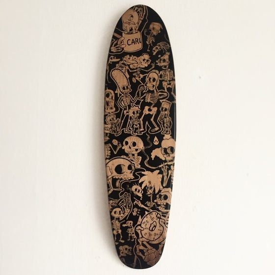 """Image of Laser Etched Springfield Xray 22"""" Cruiser Deck"""
