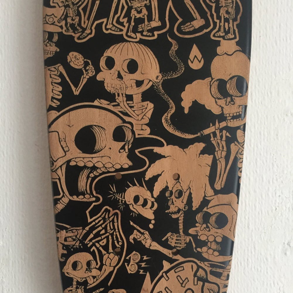 "Image of Laser Etched Springfield Xray 22"" Cruiser Deck"