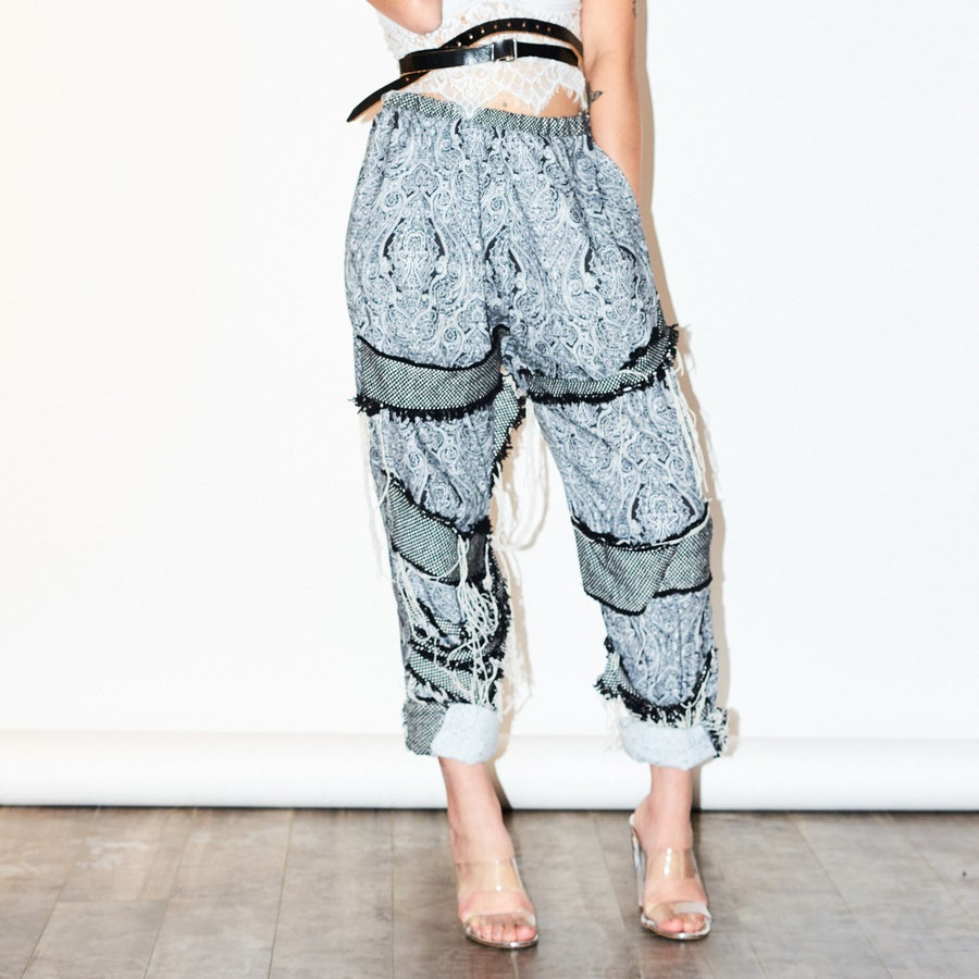 Image of Paisley Trousers