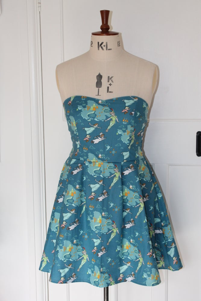 Image of disneys peter pan sweet heart dress