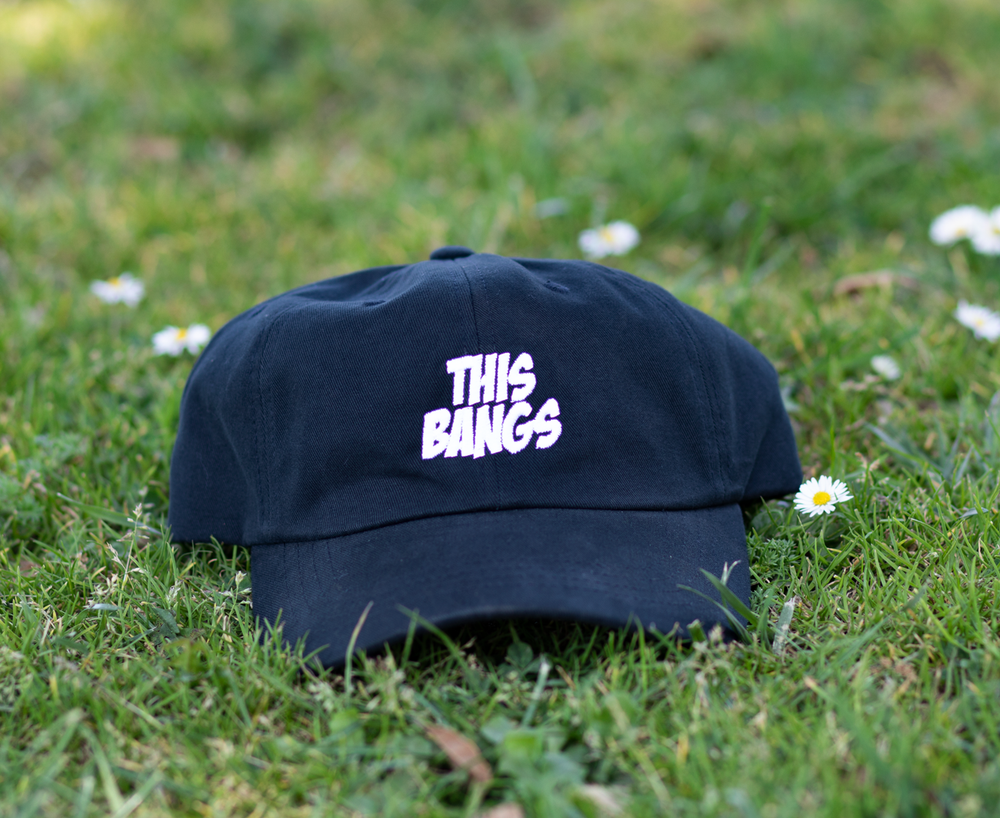 Image of This Bangs Dad Cap (Black)
