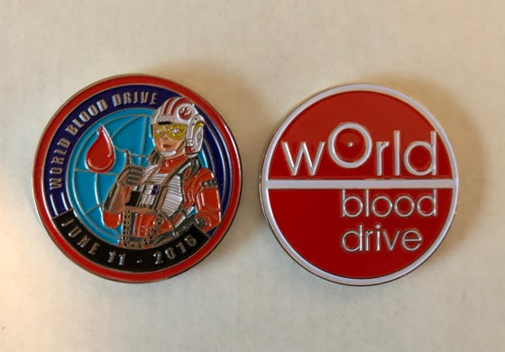 Image of 2016 World Blood Drive Coin