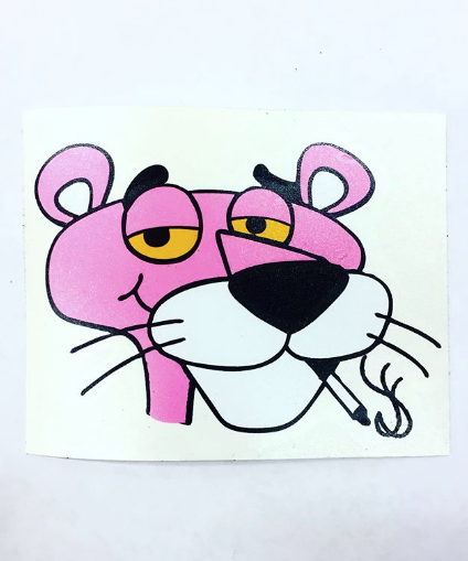 Image of Pink Panther Head