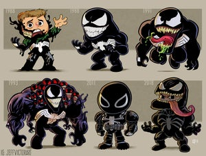 Image of Evolution of Venom Print
