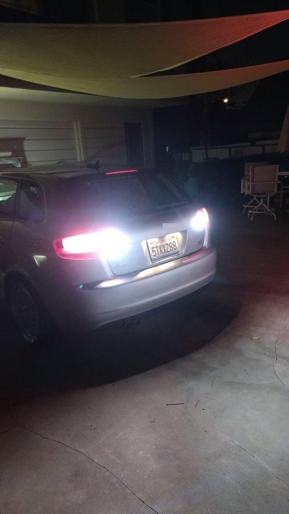 Image of  Reverse LEDs -Error Free-Bright- fits: Audi B6 A4/S4 B8 / B 8.5 S4/A4
