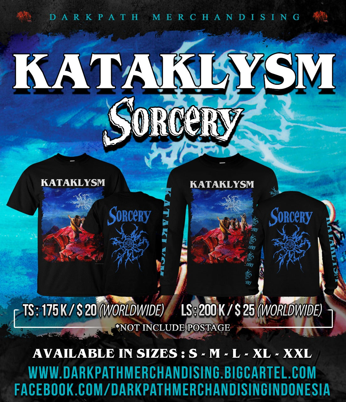 Image of KATAKLYSM - Sorcery SS & LS