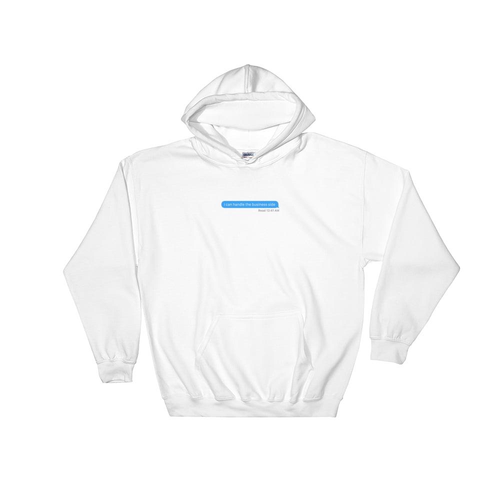 Image of nda hoodie