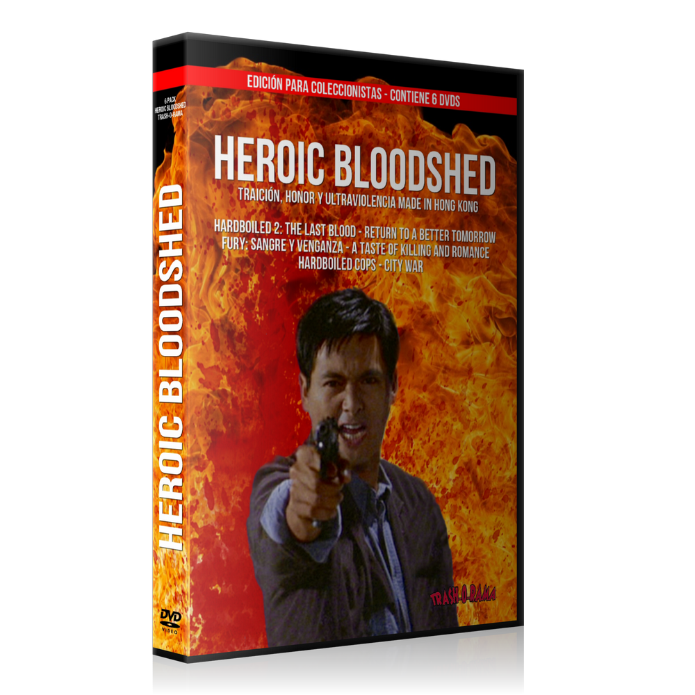 Image of Pack 6 DVD Heroic Bloodshed