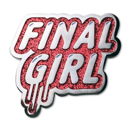 Image of Final Girl Enamel Pin