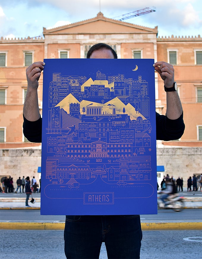 Image of Athens on Indigo