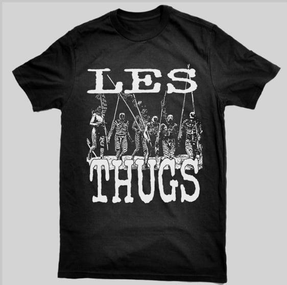 LES THUGS t-shirt Guerriers Massaïs (reprint 2015)