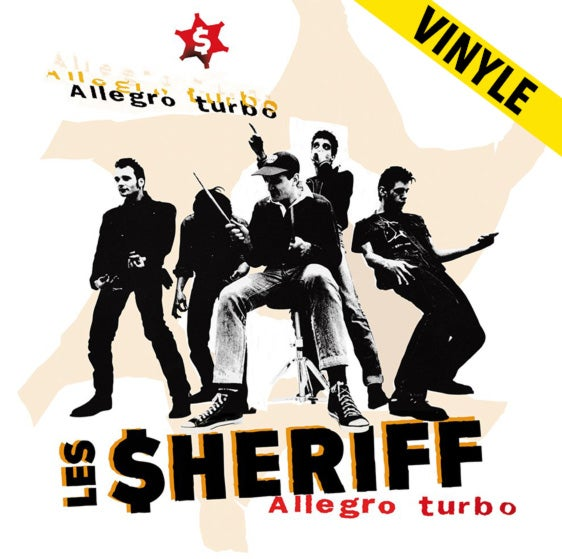 "LES SHERIFF ""Allegro Turbo"" LP (réédition 2018)"