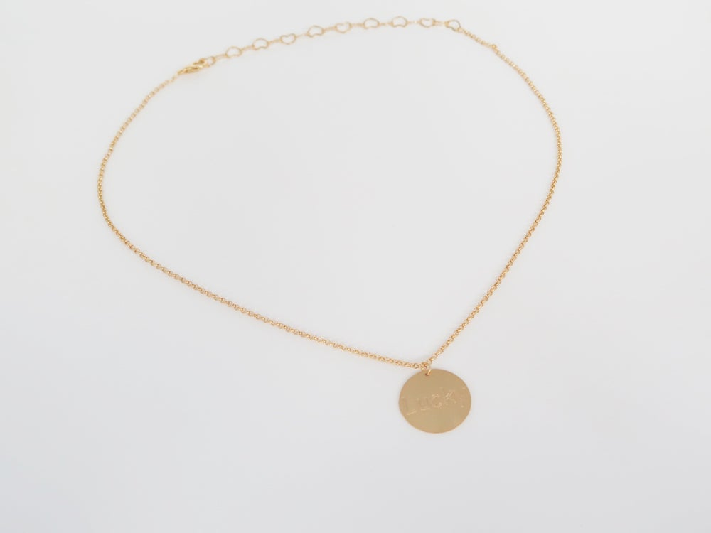 Image of Just Lucky Single Necklace