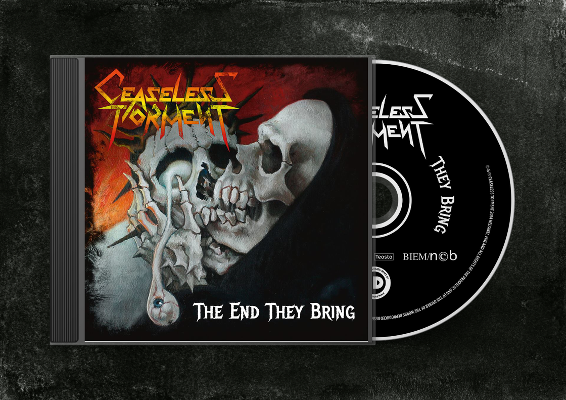 Image of The End They Bring CD Album