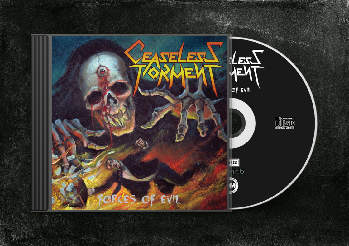 Image of Forces Of Evil CD Album