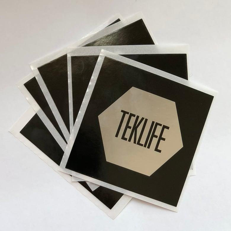 Image of TEKLIFE Silver Sticker