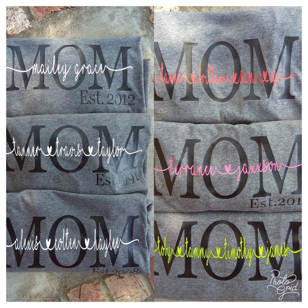 Image of Mother's Day T-Shirts
