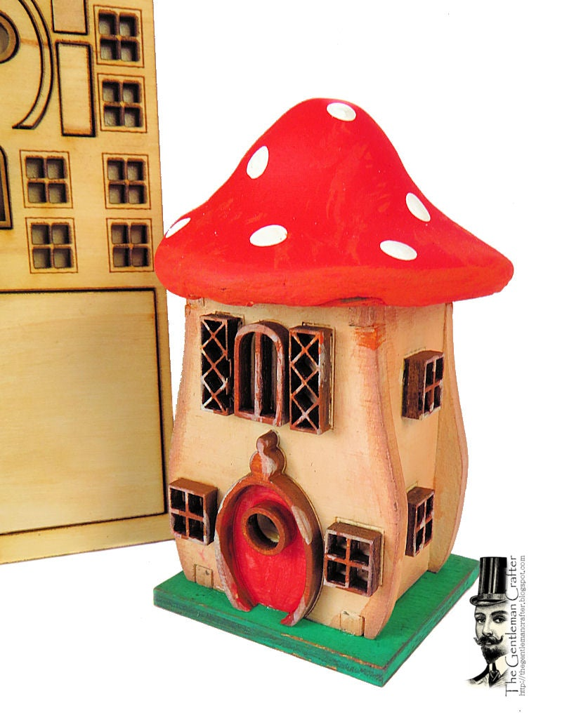 Image of Tiny Tag House- Mushroom House