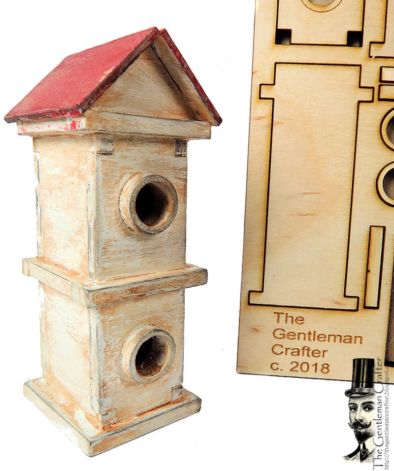 Image of Tiny Tag Houses- Birdhouse