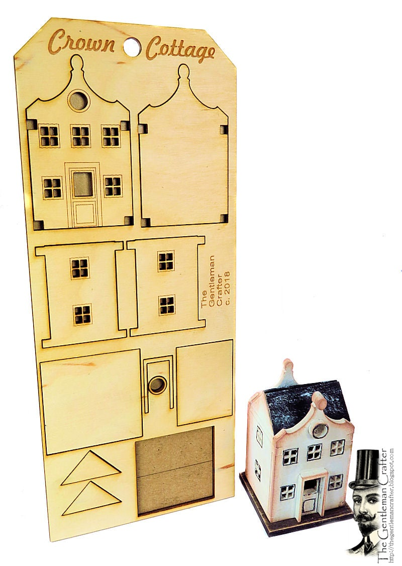 Image of Tiny Tag Houses- Crown Cottage