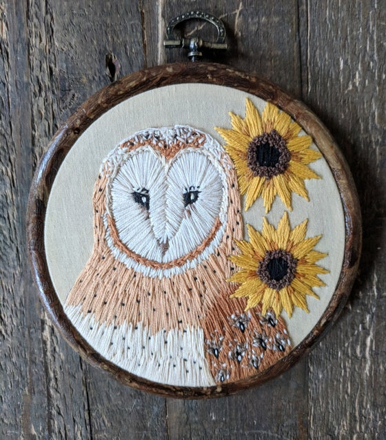 Image of Commission: Barn Owl