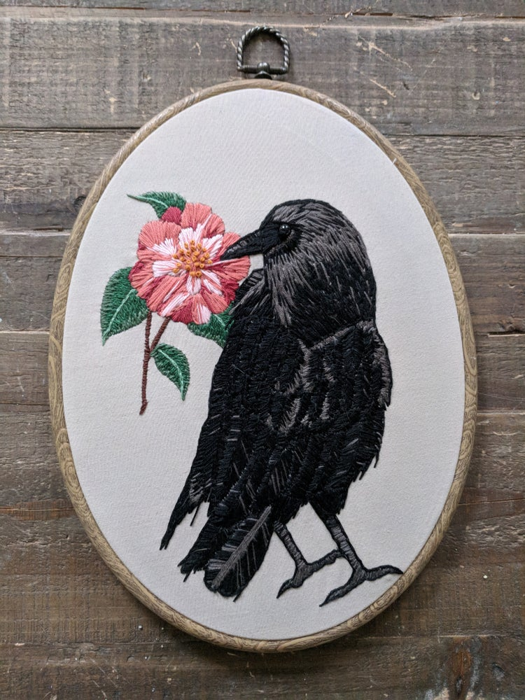 Image of Crow and Camelia