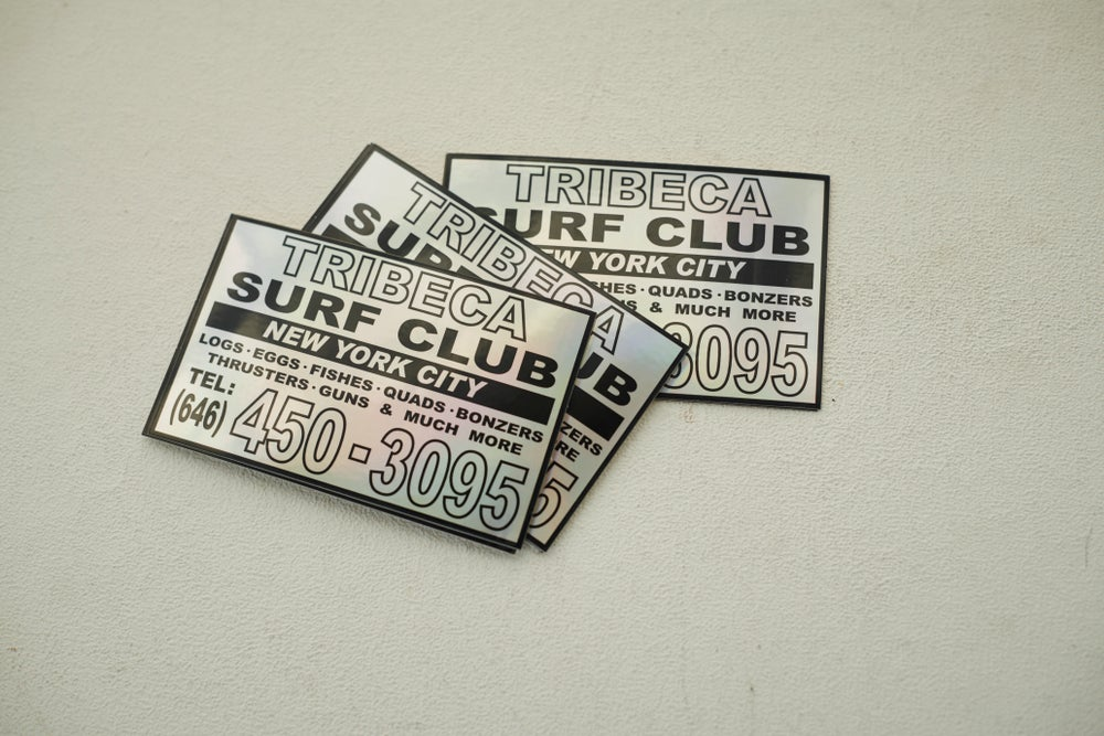 Image of TSC Stickers 3 pack