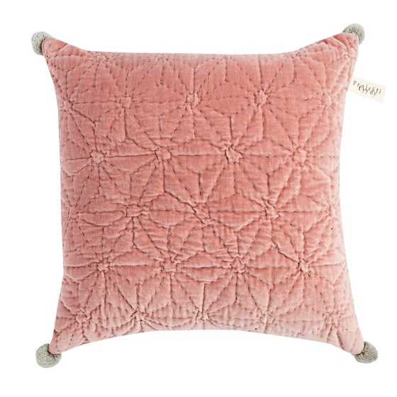 Image of T ä h t i cushion, blush pink