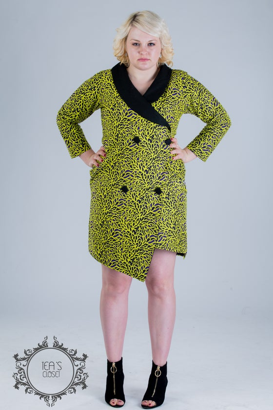 Image of JAMILA BLAZER DRESS