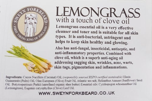 Image of Soap Lemongrass with a touch of Clove Oil (Pack of 2)