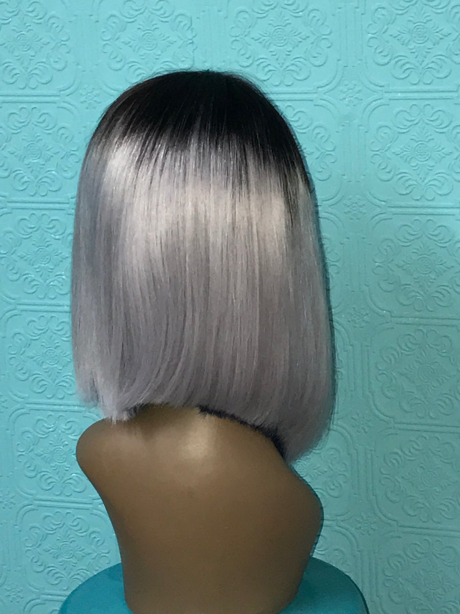 "Image of 14"" straight wig"