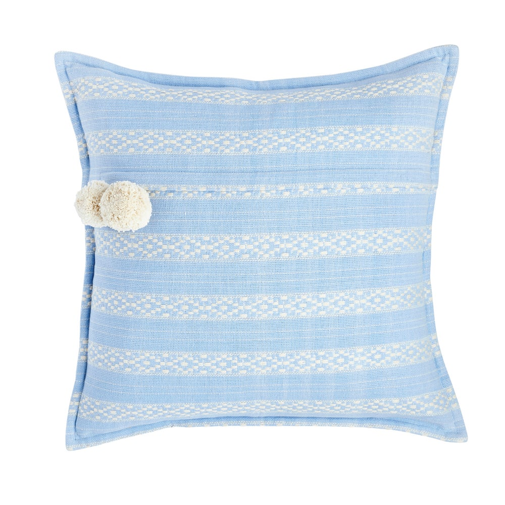 Image of K i s s a n k e l l o cushion, serenity blue