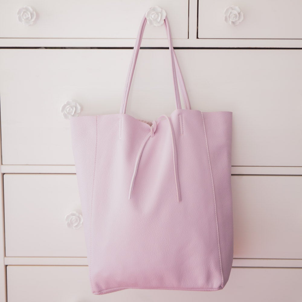 Image of Shopping Bag in pelle | Lilla