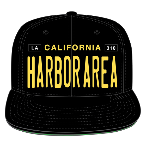 Image of HARBOR AREA LICENSE PLATE SNAPBACK