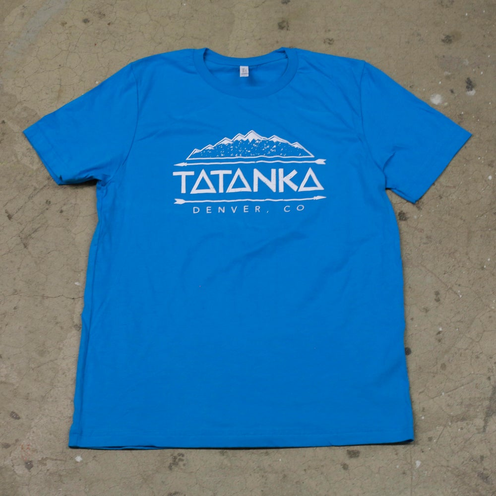 Image of Light Blue Mountains Tee (Men's)