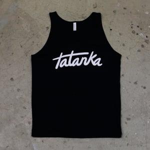 Image of Black Font Tank (Men's)