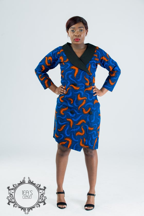 Image of JAMLAA BLAZER DRESS