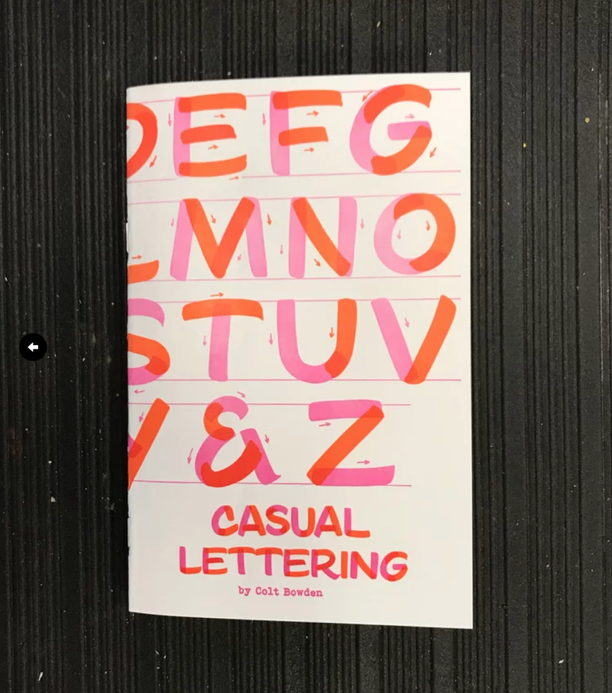 Image of Casual Lettering 2 by Colt Bowden