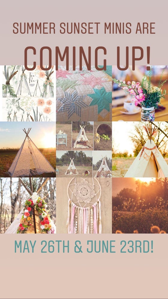 Image of June 23rd Summer Sunset mini sessions!