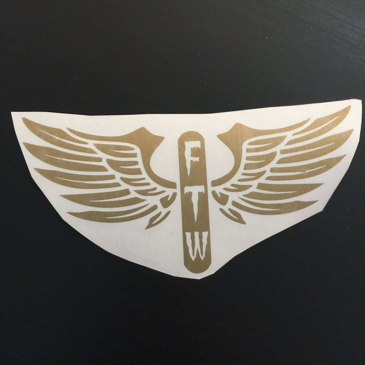 Image of FTW Wings Decal