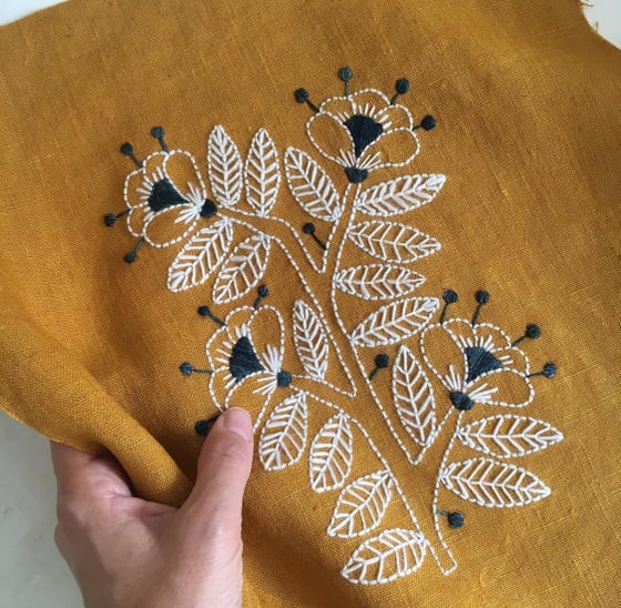 Image of Wool Embroidery with Kasia Jacquot ..Saturday August 18th 1.30-4.30pm